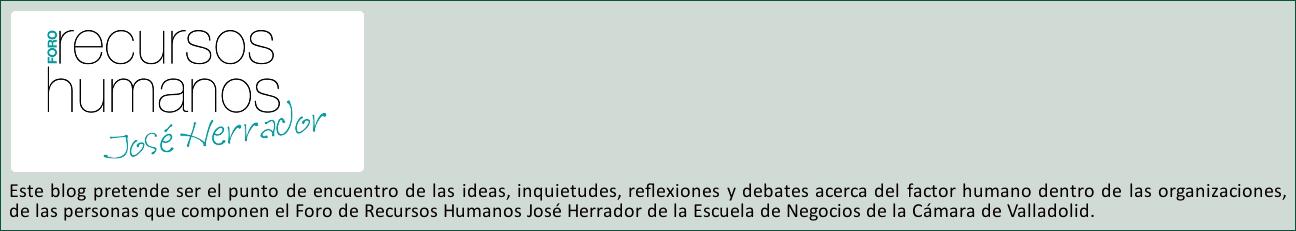 FORO JOSÉ HERRADOR DE RECURSOS HUMANOS