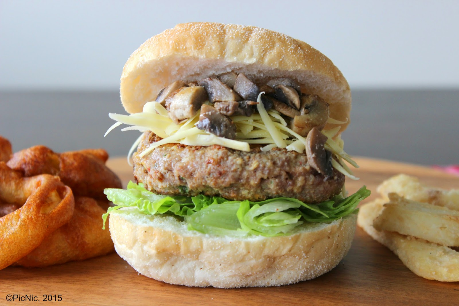 PicNic: Lamb Burgers