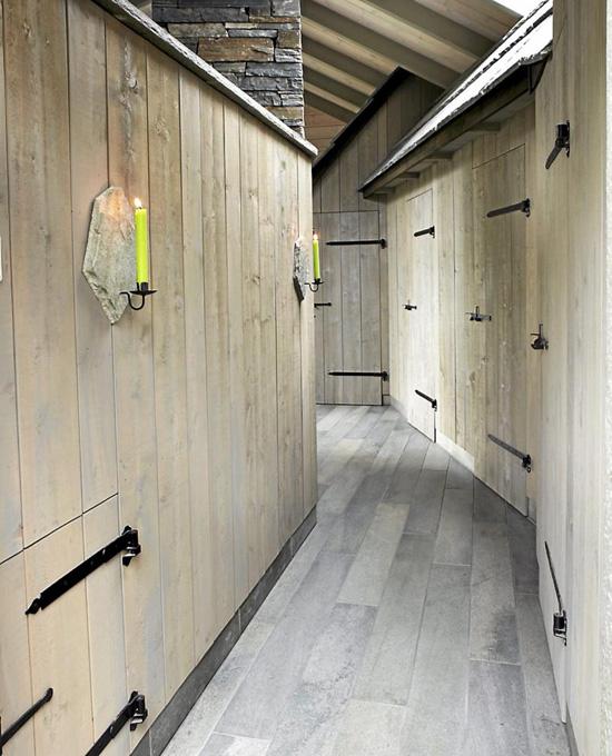 Design interior casa con techos rusticos de pasto - Techos rusticos ...