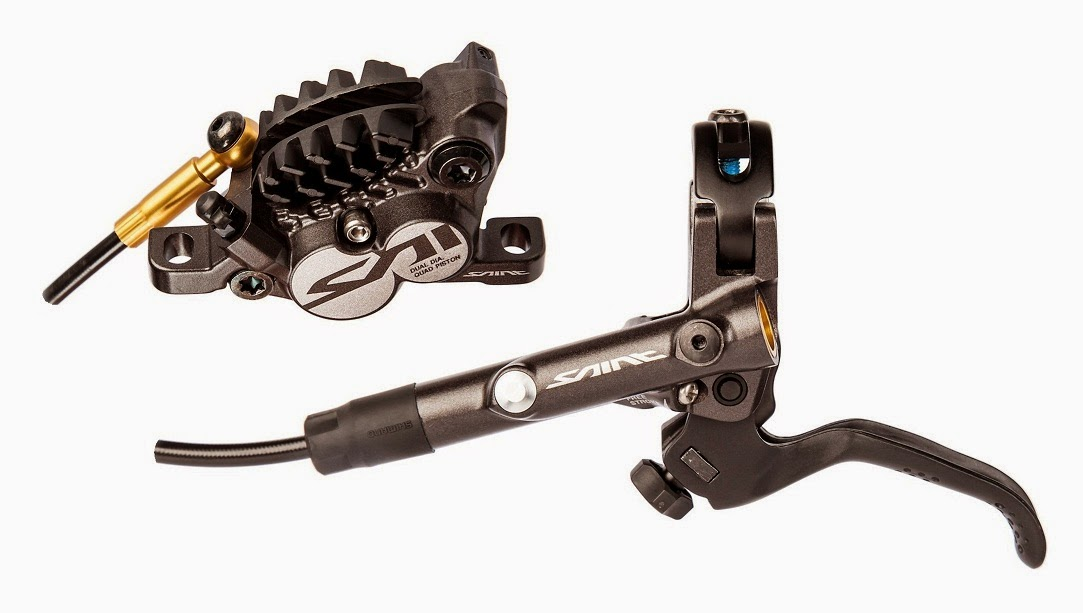 Shimano Saint lever and calliper