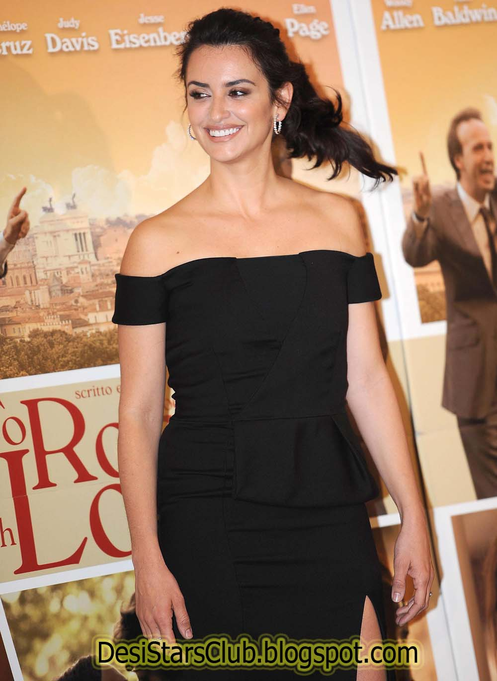 Penelope Cruz Photoshoot For To Rome With Love In Rome