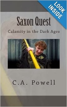 Saxon Quest by C.A. Powell
