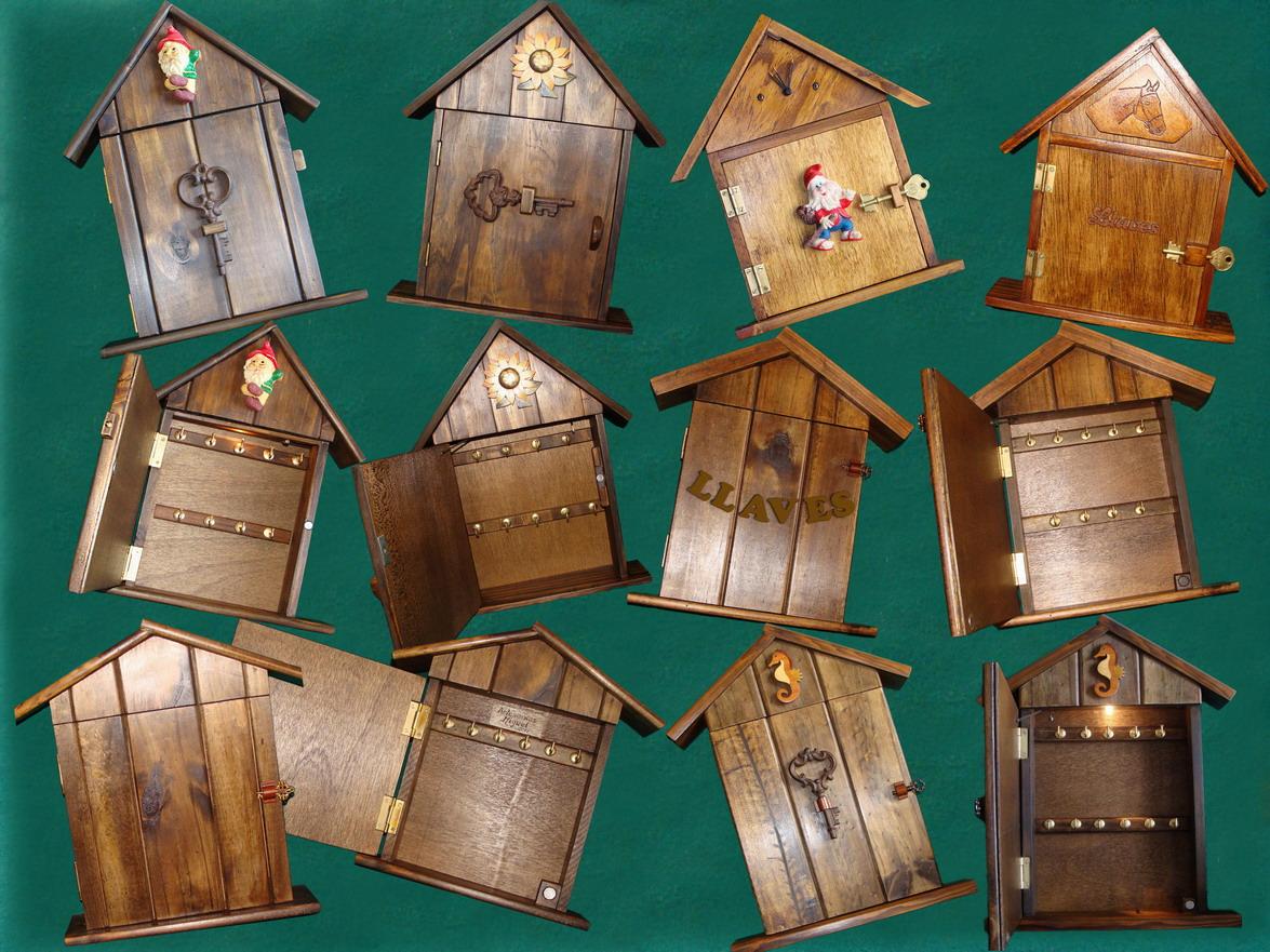 Artesanias miguel artesanias key holder portallaves - Trabajos artesanales para hacer en casa ...
