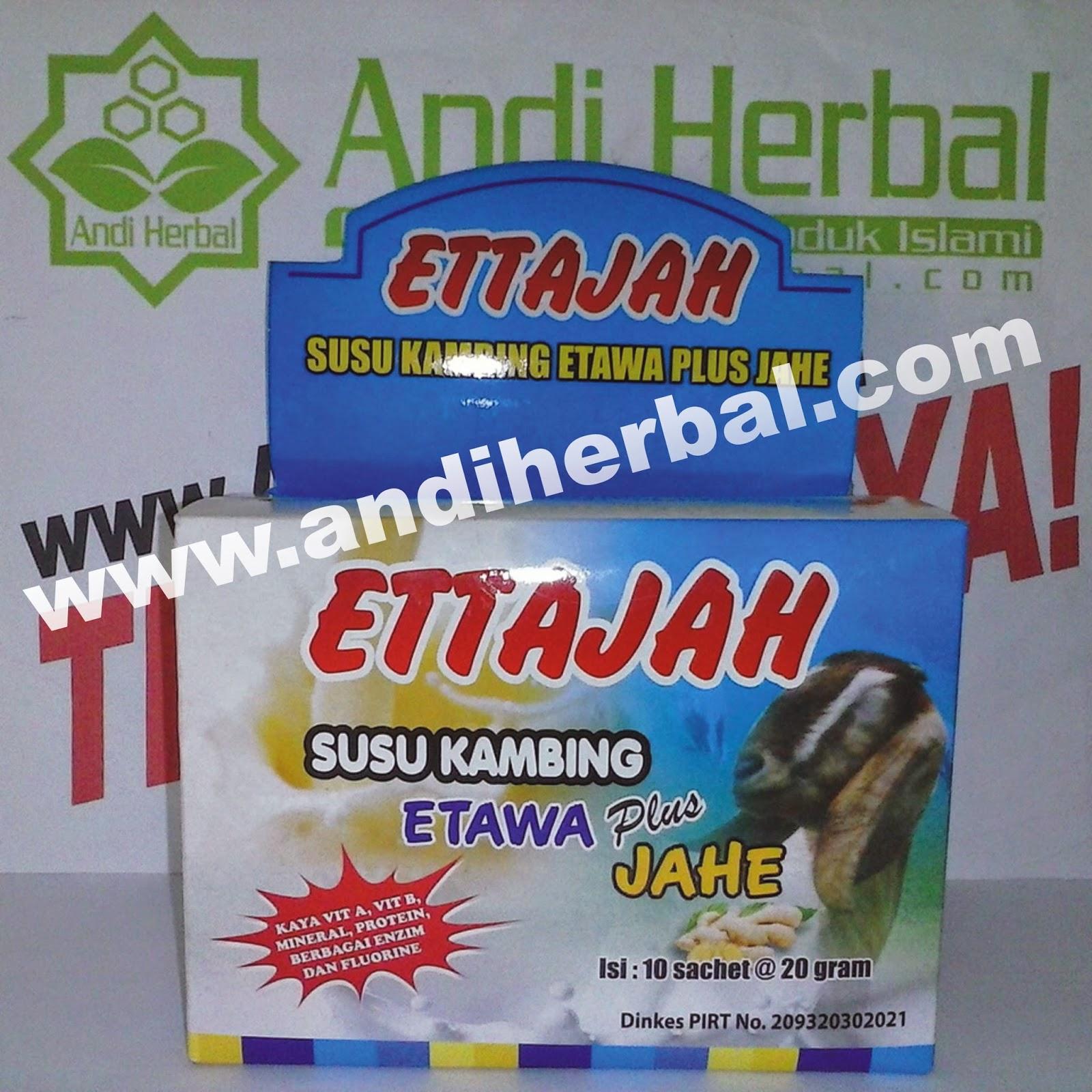 Susu Kambing Etawa Plus Jahe ETTAJAH Gholiban Andiherbal.com