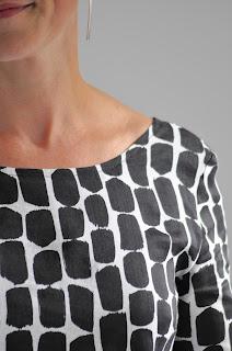 DIY kleding, Bernina, diy jurk, naaien, sewing, fabric Christian Wijnants, open back dress