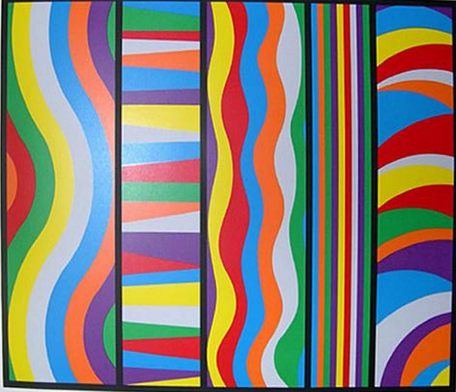 Pintura moderna y fotograf a art stica arte minimalista for Imagenes de cuadros abstractos faciles