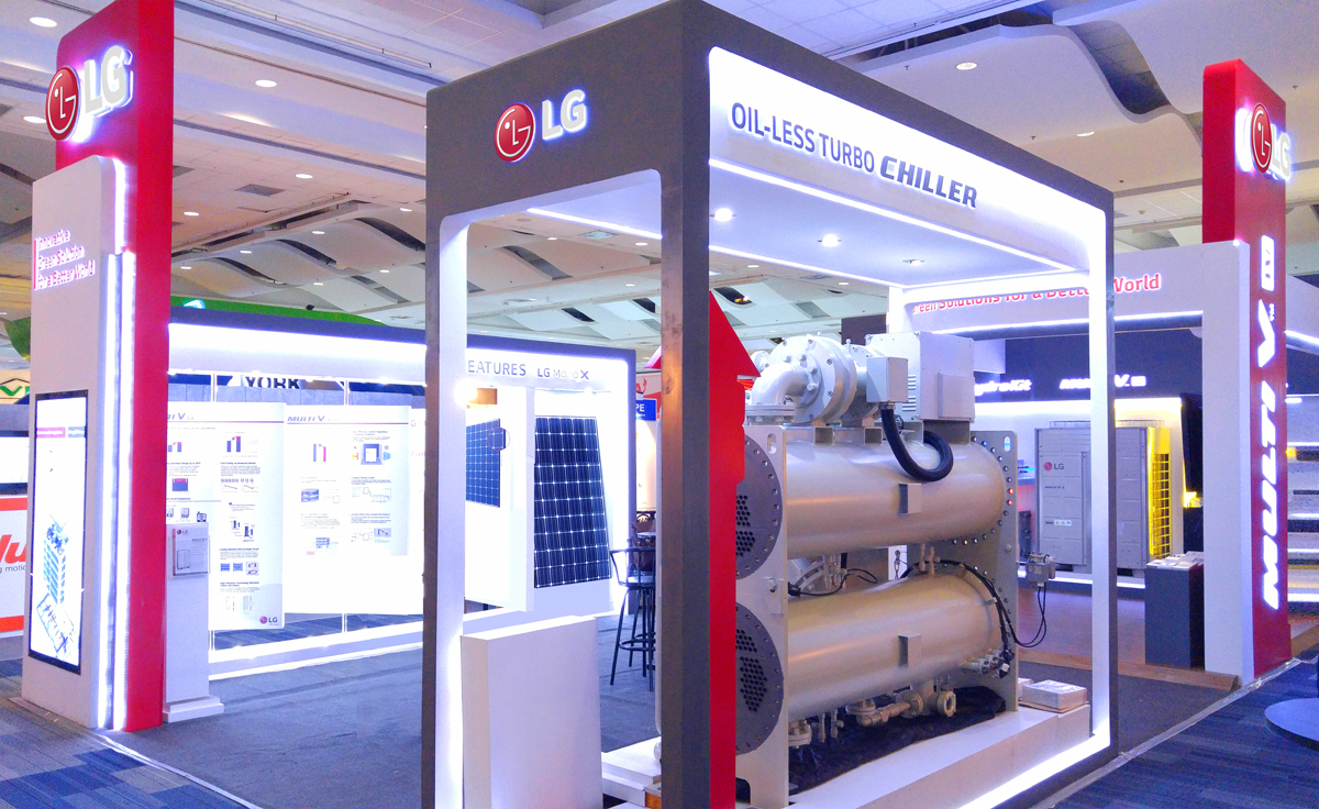 LG 2015 HVAC Booth