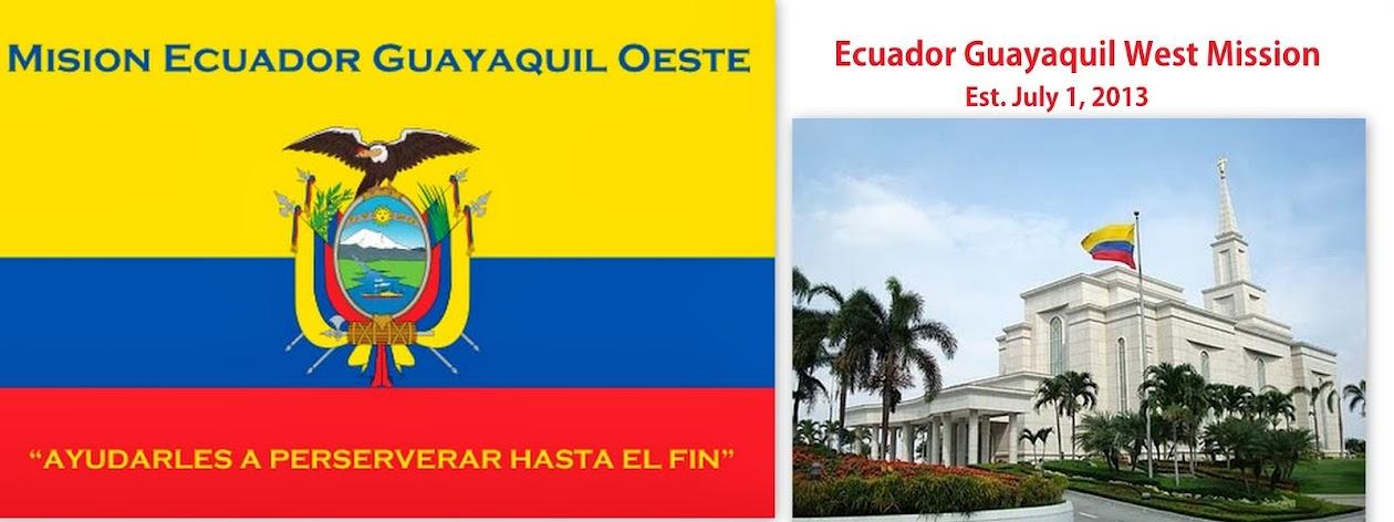 Ecuador Guayaquil West Mission