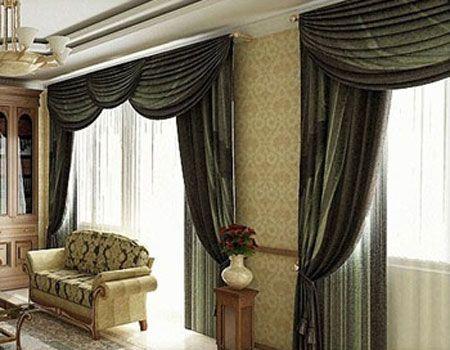 Decorando Dormitorios Fotos de Cortinas para Sala con Cenefas