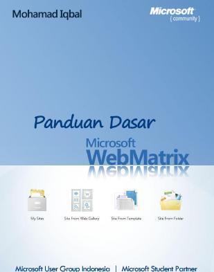 Panduan Dasar Microsoft WebMatrix