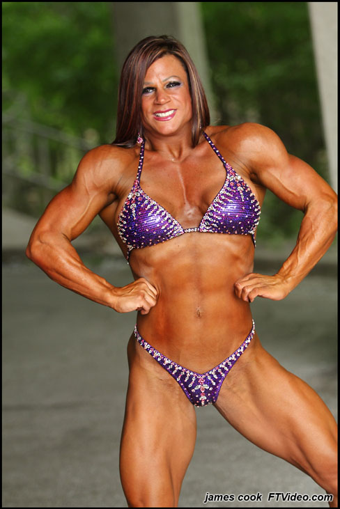 Ann Marie l'Europa Female Muscle Bodybuilding Blog FTVideo