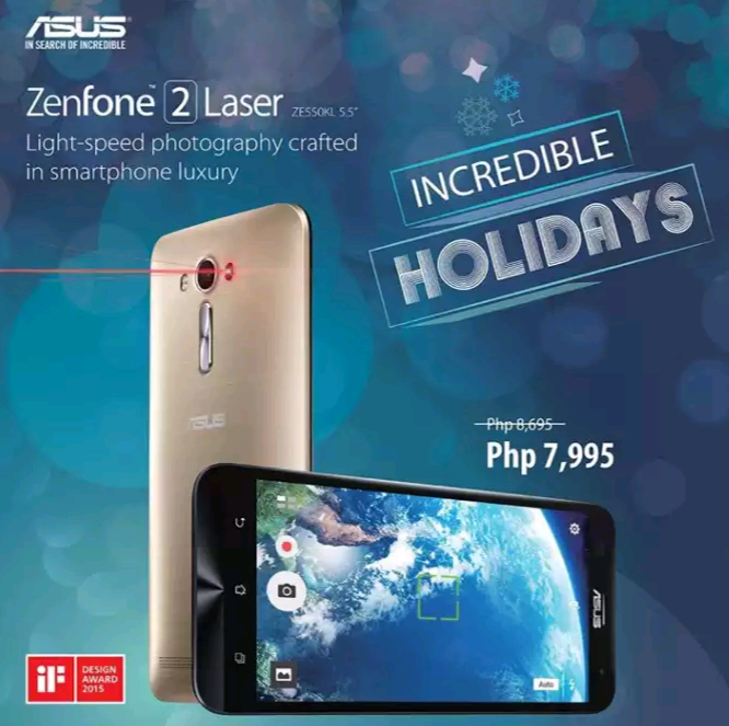 Asus Zenfone 2 Laser 55 Inch Now At A Lower Price