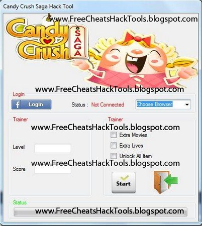 how to connect candy crush saga hack to facebook