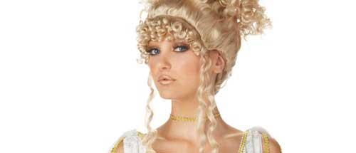 peinado para disfraz casero y sexy de diosa griega