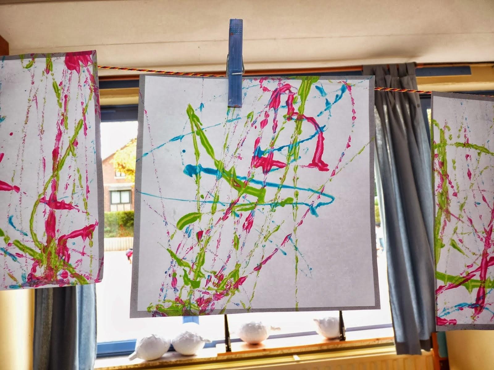 Dessin à La Craie Grasse Et Peinture à Lu0027écoline.