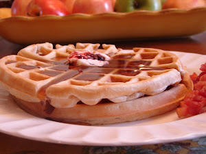 Vanilla cinnamon Waffles