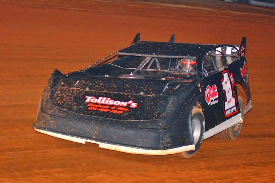 Jordy Nipper at Swainsboro Raceway's Turkey 100