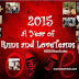 """2015: """"A Year of Runs and Loveteams"""" - Uncovering My Top 15 of 2015 #2015YearEnder"""