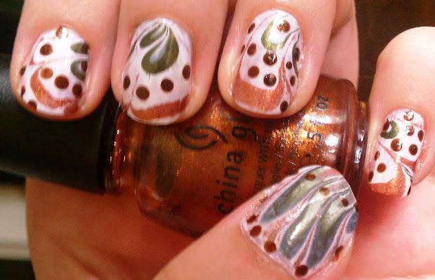 thanksgiving and fall nail art
