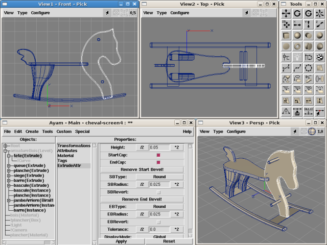 5 open source 3d modelling rendering apps for linux Free 3d design software online