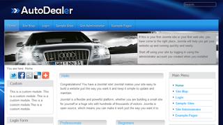Auto Dealer Joomla 1.6 Template