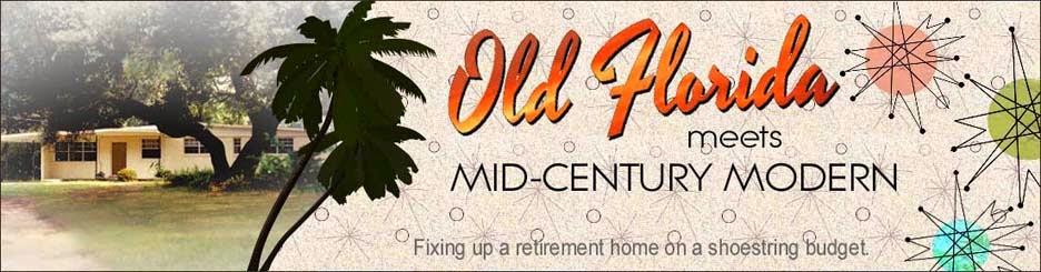 Old Florida Meets Mid Century Modern