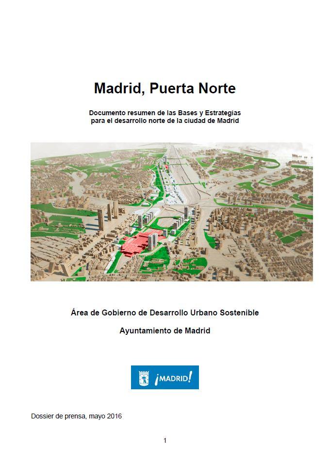 """Documento del Ayuntamiento """"Puerta Norte"""""""