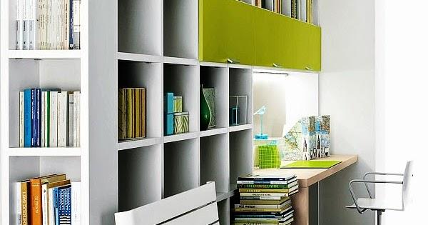 Cómo Decorar una Pequeña Oficina en Casa? Small Home Office ...