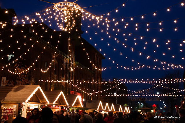 Toronto Christmas Market at the Historic Distillery District