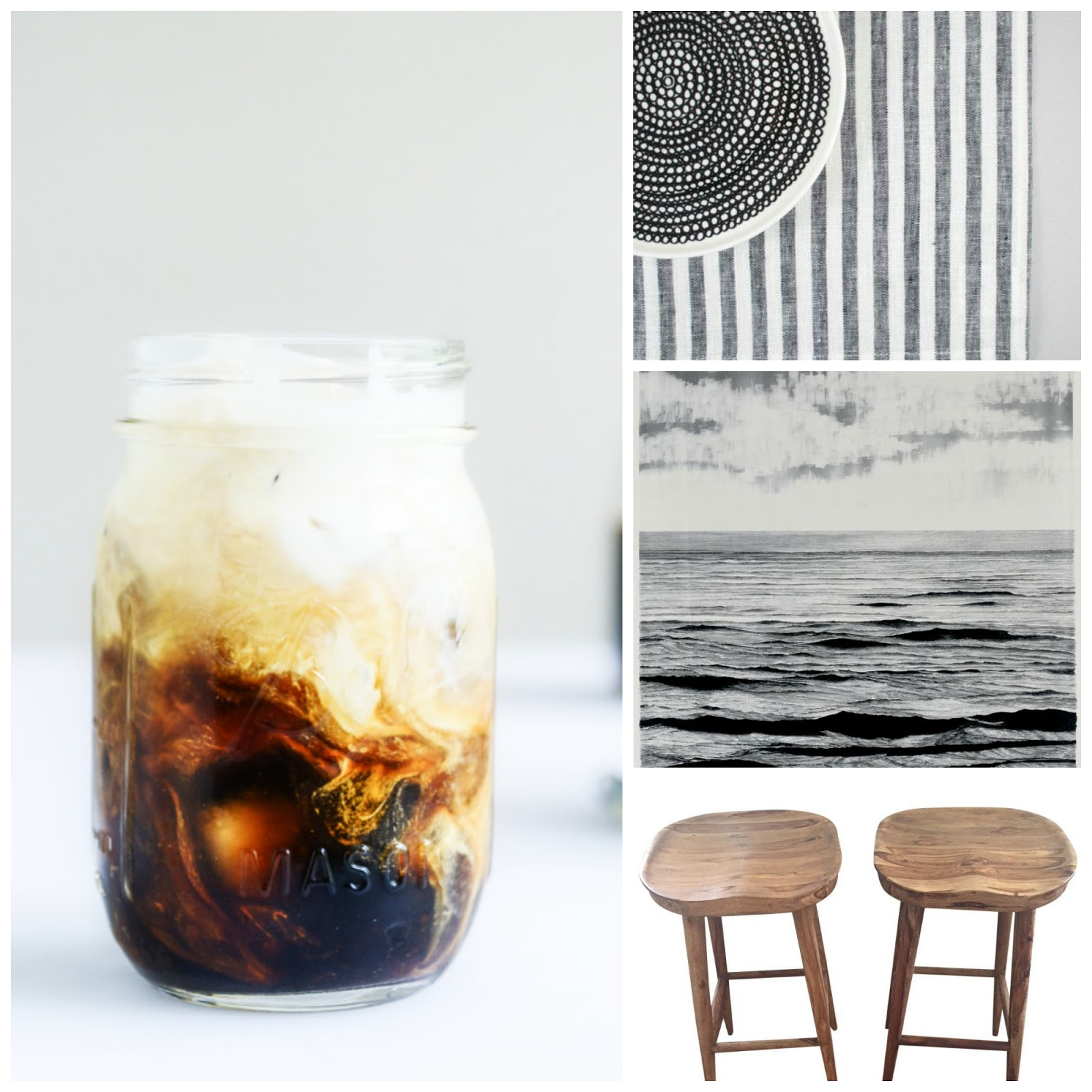 Cold Brew Coffee Linens Chairs