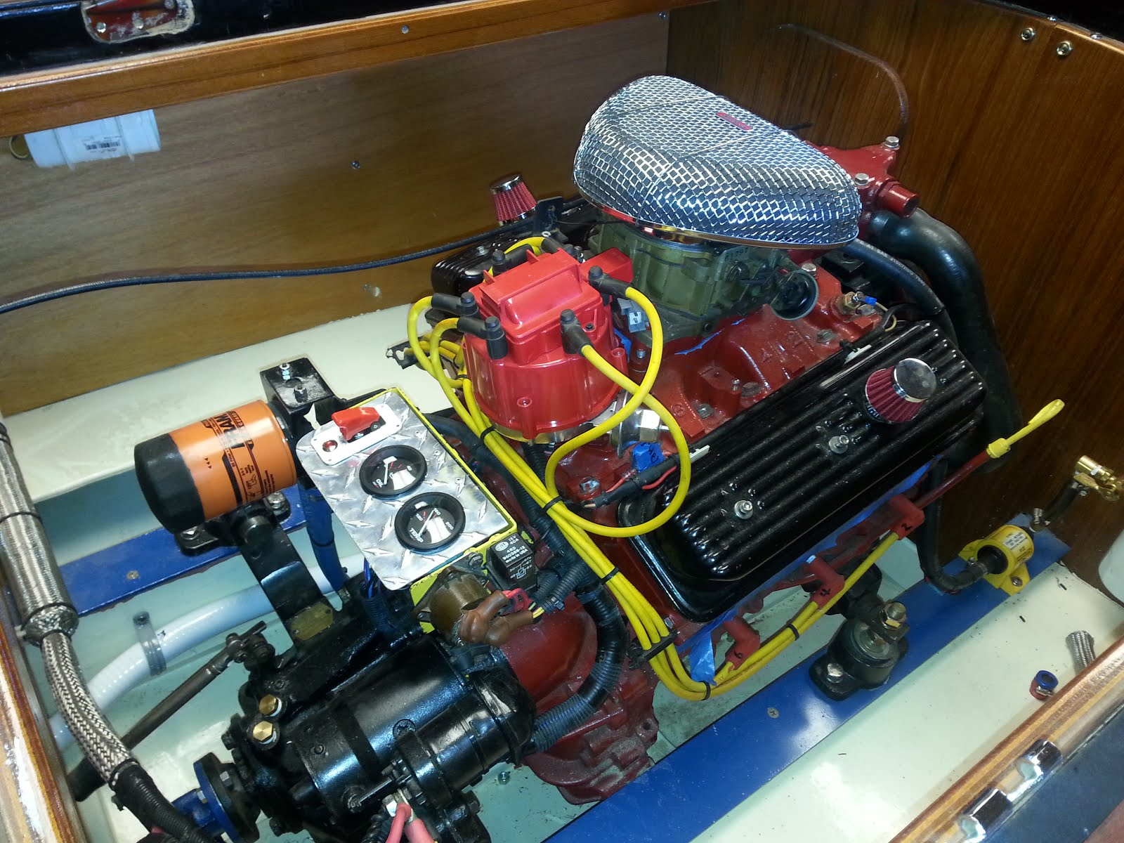 Gar Wood Speedster 16' Engine