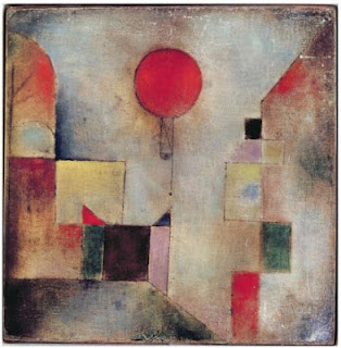 Paul Klee painting - Red Balloon