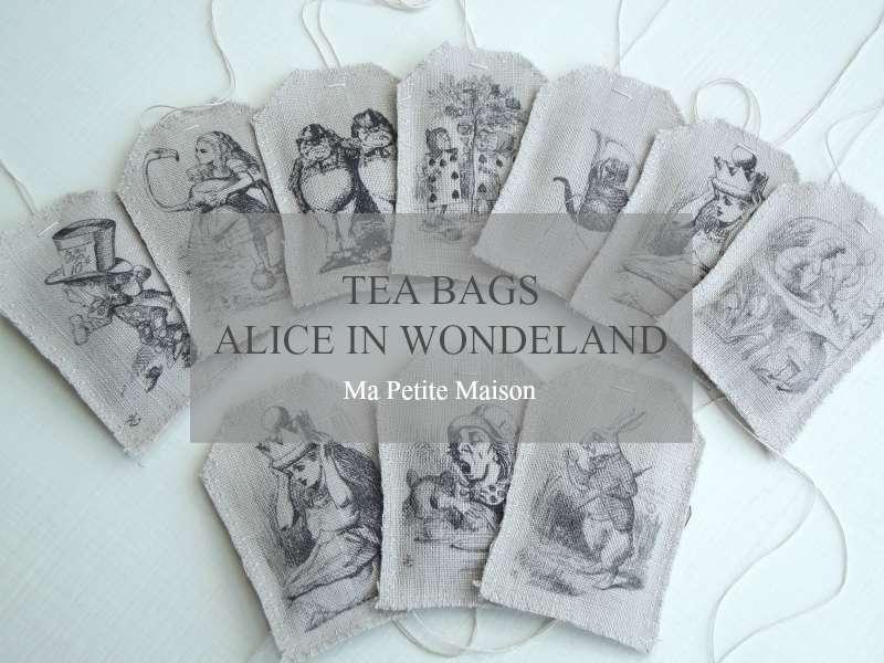 """Bomboniere a tema """"Alice nel Paese delle Meraviglie"""""""