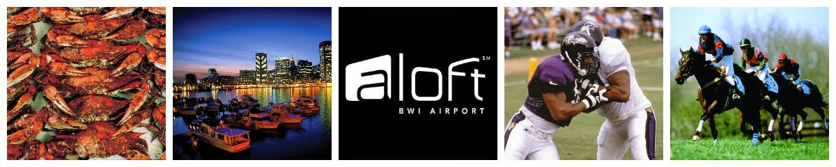 Aloft BWI & W XYZ Lounge- Events and Recommendations near BWI, Baltimore