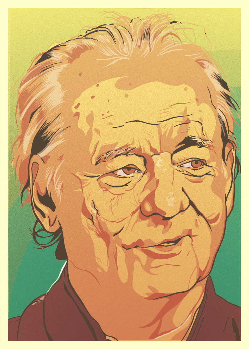 Bill Murray Portrait