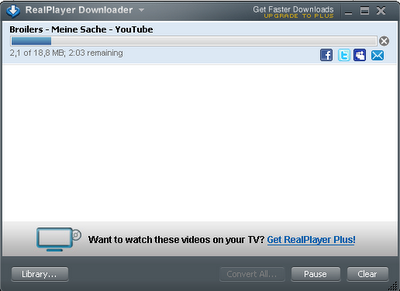 HOW TO USE REALPLAYER TO DOWNLOAD A VIDEO THEN CONVERT TO MP3