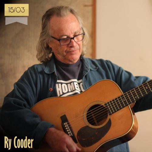 15 de marzo | Ry Cooder - @obon_city | Info + vídeos