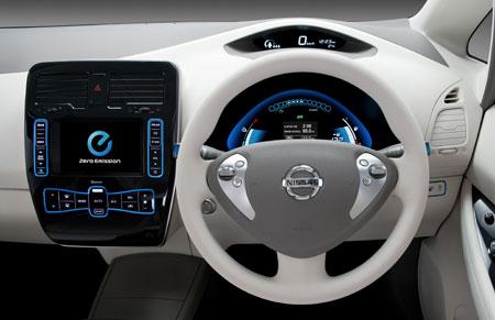 Nissan on Nissan Leaf