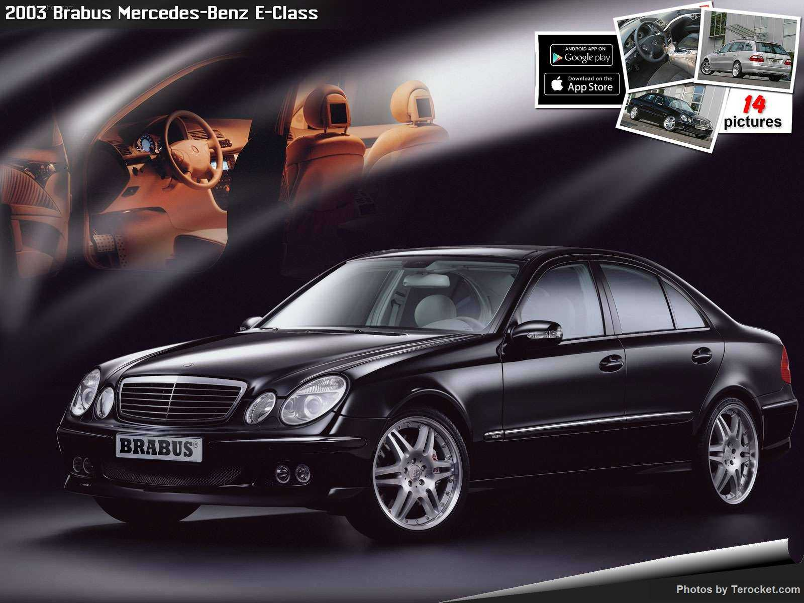 Hình ảnh xe ô tô Brabus Mercedes-Benz E-Class 2003 & nội ngoại thất