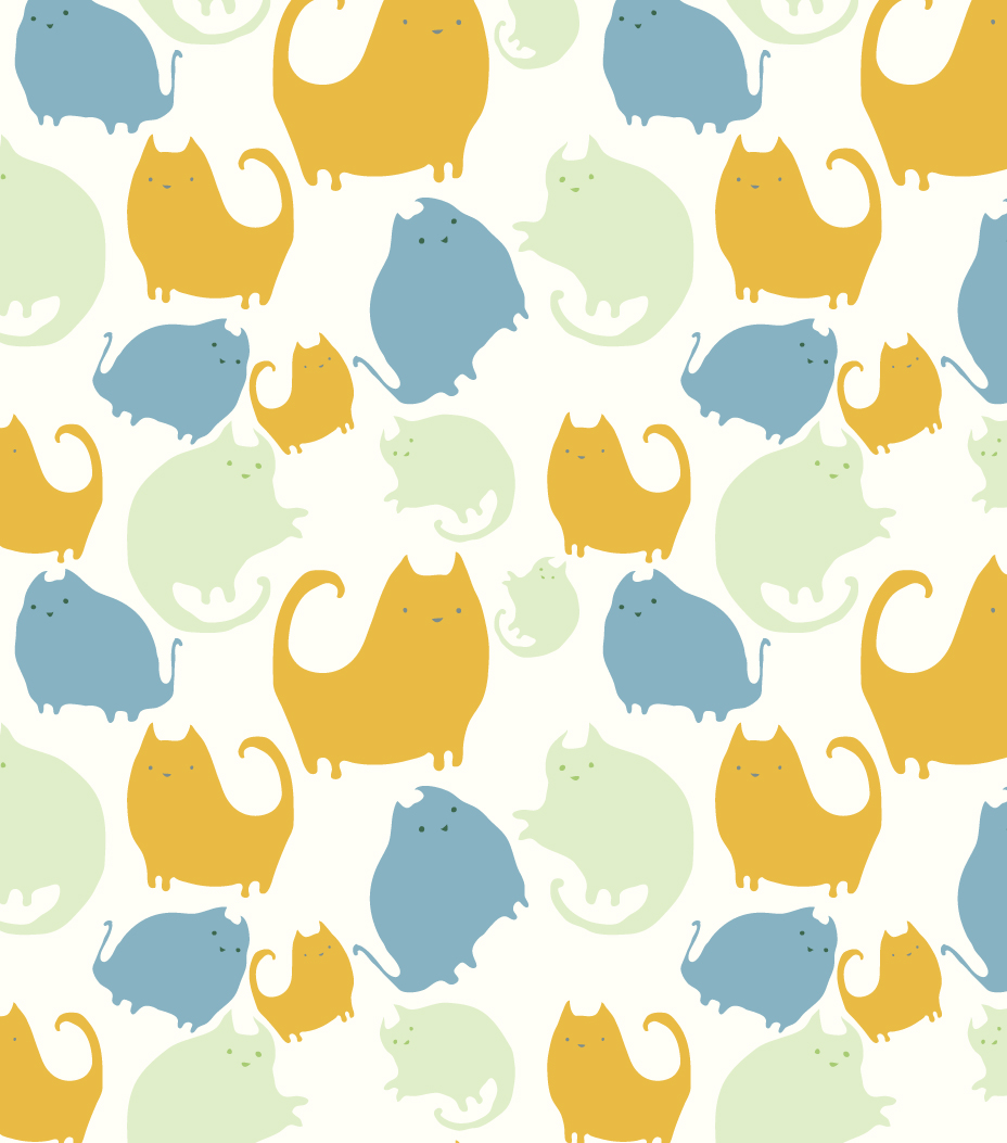 Cat Pattern On Pinterest Cat Wallpaper Cat Pattern And Cat Prints