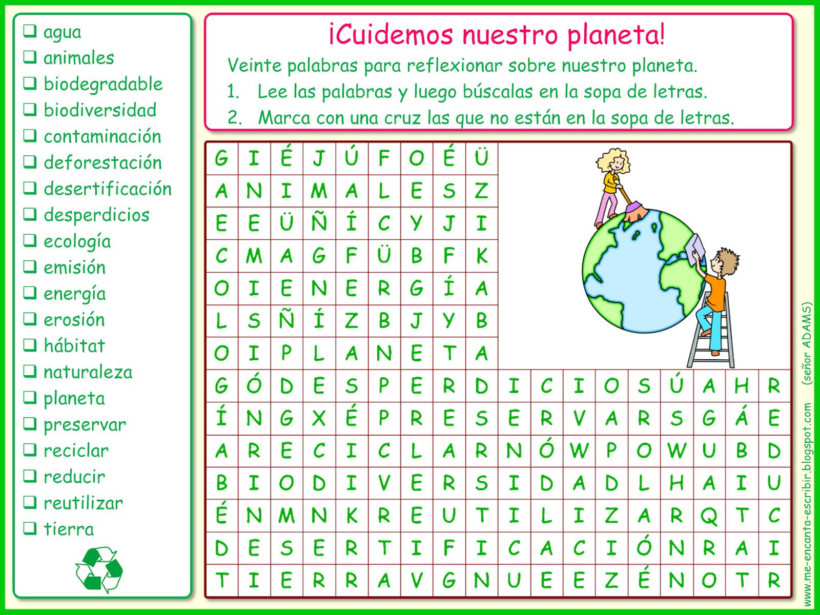 proteger nuestro planeta y ayudar a mantener el equilibrio ecológico