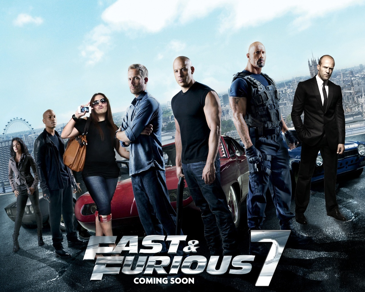 Fast and Furious 7 Wallpapers  New Movies Collections