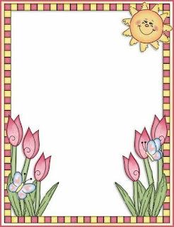 Jardim colorido da tia suh bordas coloridas para preparar for Bordas para mural