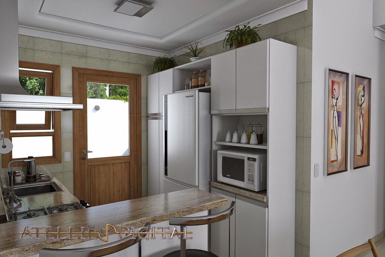 Atellie Digital: Maquete Eletronica Casa pequena mas confortável de  #614730 1280 853