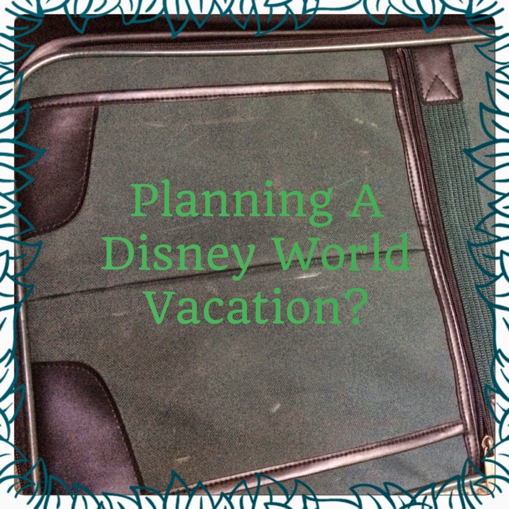 planning Disney World vacation #ivysvariety