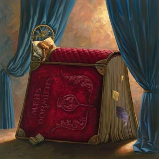 Quadro Pillow Book, de Vladimir Kush.