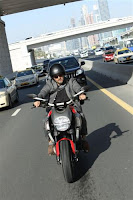 Ajith riding Ducati Still