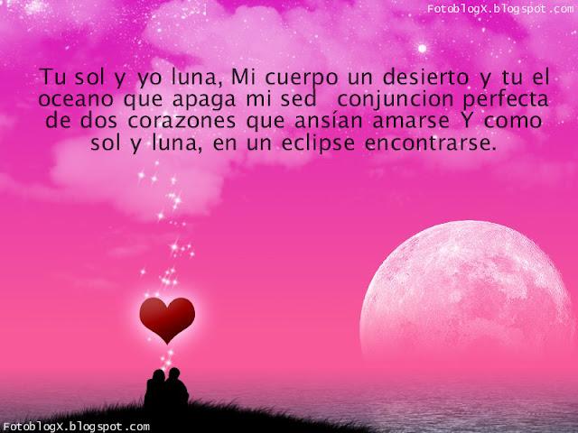 Tu Sol y Yo Luna - Imagen de Amor para Facebook