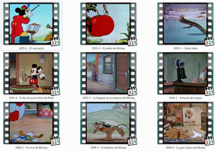 Tesoros Disney: Todo sobre Mickey ( 1935 ) Español