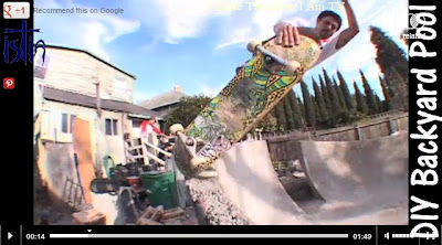Backyard Pool Skateboard videos
